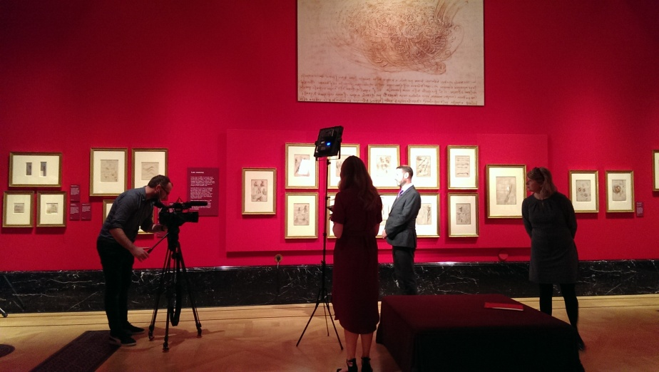 Leonardo 500th anniversary exhibition preview